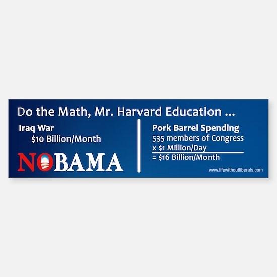 Do the Math Bumper Bumper Bumper Sticker