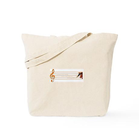 Music, Writing, God--My Survi Tote Bag