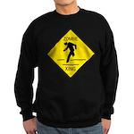 Zombie Crossing Sweatshirt (dark)