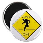 Zombie Crossing Magnet