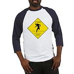 Zombie Crossing Baseball Jersey