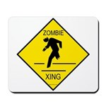 Zombie Crossing Mousepad