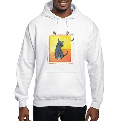 Cat-Delight in the Little Things Hooded Sweatshirt