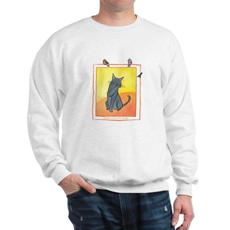 Cat-Delight in the Little Things Sweatshirt