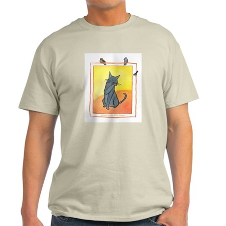 Cat-Delight in the Little Things Light T-Shirt