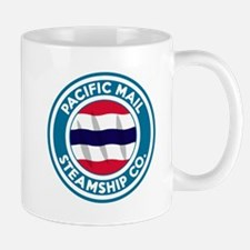vintage Pacific Mail SS logo Mugs