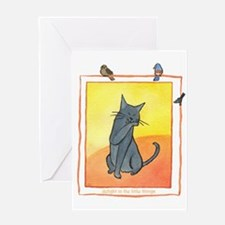 Cat-Delight in the Little Things Greeting Card