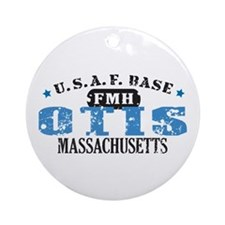 Otis Air Force Base Ornament (Round)