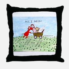 Tag Saler Throw Pillow