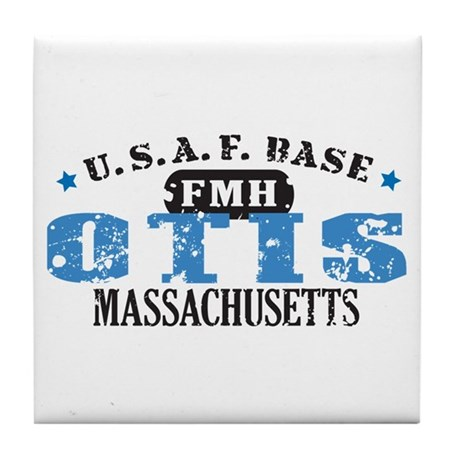 Otis Air Force Base Tile Coaster