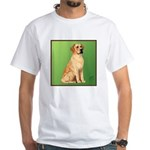 Golden Lab White T-Shirt