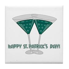 Irish Martini Tile Coaster