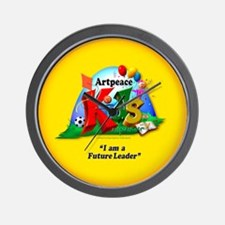 ArtPeace Kids Wall Clock