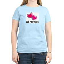 Funny Valentine's day twins T-Shirt