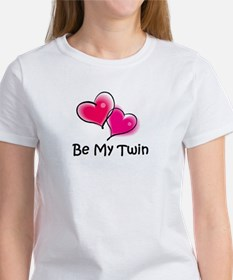 Funny Twin valentine%27s day Tee