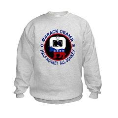 Barack Obama - Half Honkey, All Donkey Sweatshirt