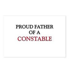 Proud Father Of A CONSTABLE Postcards (Package of