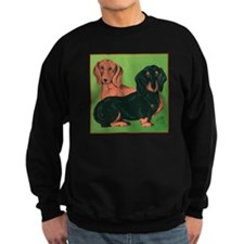Double Dachshunds Sweatshirt