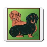 Weiner dog Mouse Pads