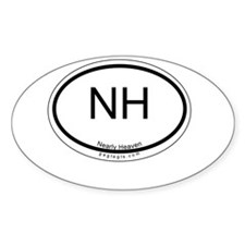 Nearly Heaven Oval Decal