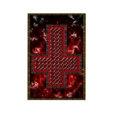 Upside Down Knot Cross ~ Evil Magnet