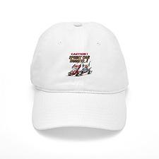 Funny Sprint car Baseball Cap
