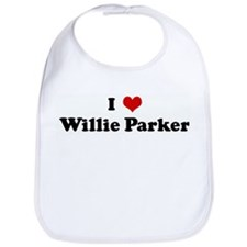 I Love Willie Parker Bib