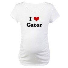 I Love Gator Shirt