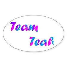 Team Teah - Oval Decal