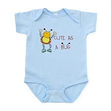 Cute As A Bug Infant Bodysuit