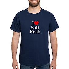 """I Love (Heart) Soft Rock"" T-Shirt"
