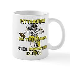Pittsburgh Six Time Champs Mug