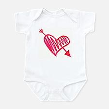 CUPID GOT ME Infant Bodysuit