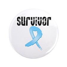 """Prostate Cancer Survivor 3.5"""" Button (100 pack)"""