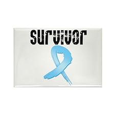 Prostate Cancer Survivor Rectangle Magnet
