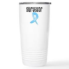 Prostate Cancer Survivor Travel Mug