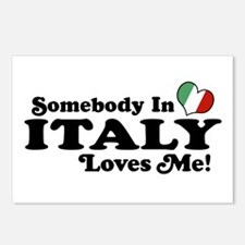 Somebody in Italy Loves Me Postcards (Package of 8