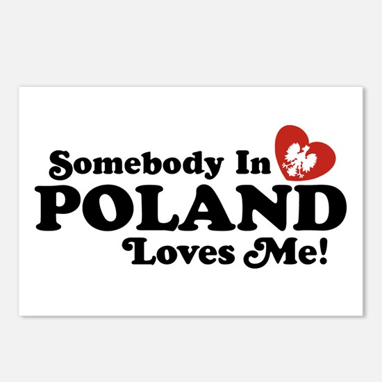 Somebody in Poland Loves Me Postcards (Package of