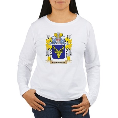 Mcwhinney Coat of Arms - Famil Long Sleeve T-Shirt