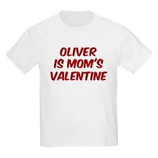 Olivers is moms valentine T-Shirt
