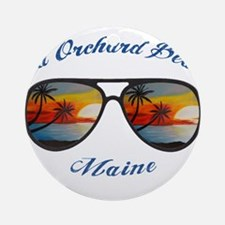 Maine - Old Orchard Beach Round Ornament