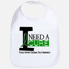 I Need A Cure CEREBRAL PALSY Bib