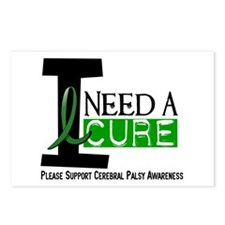 I Need A Cure CEREBRAL PALSY Postcards (Package of