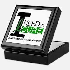I Need A Cure CEREBRAL PALSY Keepsake Box