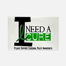 I Need A Cure CEREBRAL PALSY Rectangle Magnet (10