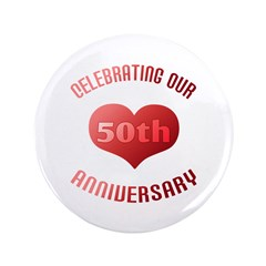 50th Anniversary Heart Gift 3.5