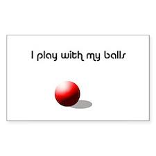 Balls Decal