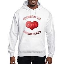 20th Anniversary Heart Gift Hoodie