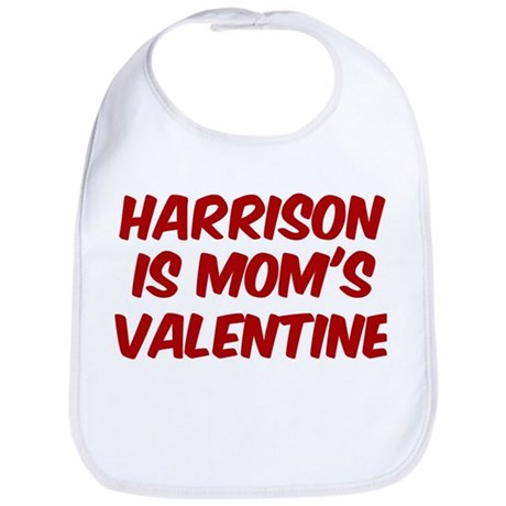 Harrisons is moms valentine Bib