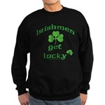 Irishmen Get Lucky Black Sweatshirt